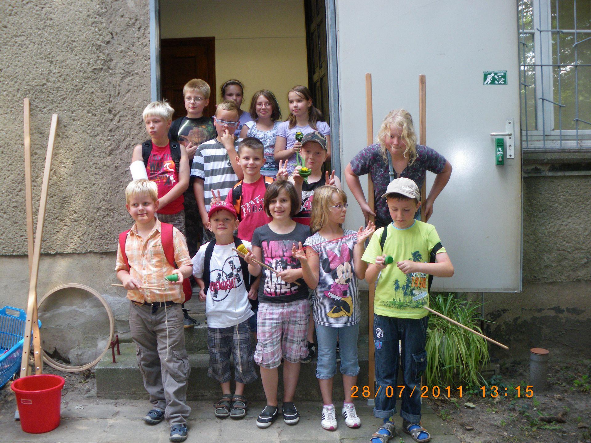 Kinderprogramm: Alte Kinderspiele