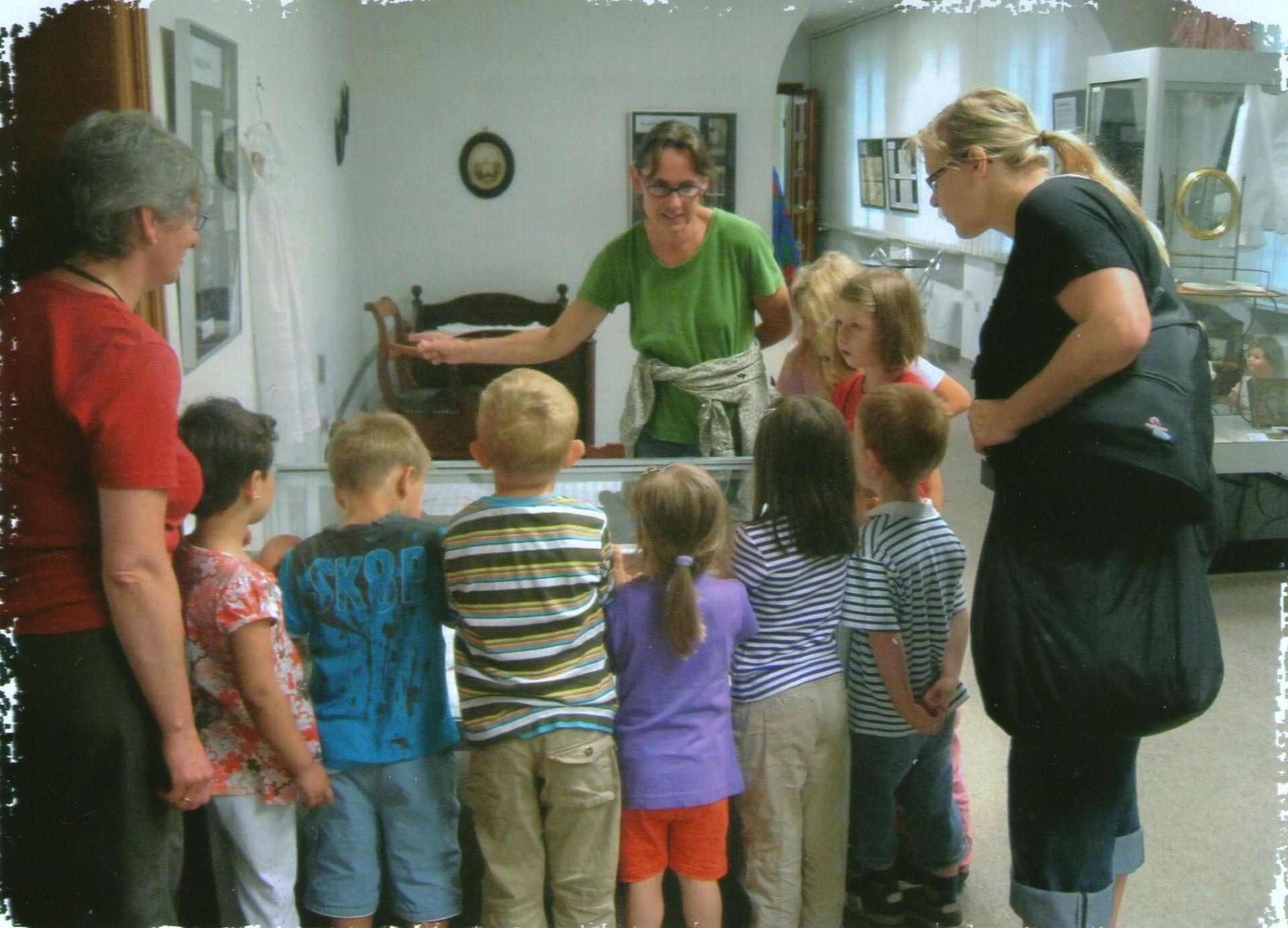 Museumsführung für Kindergruppen