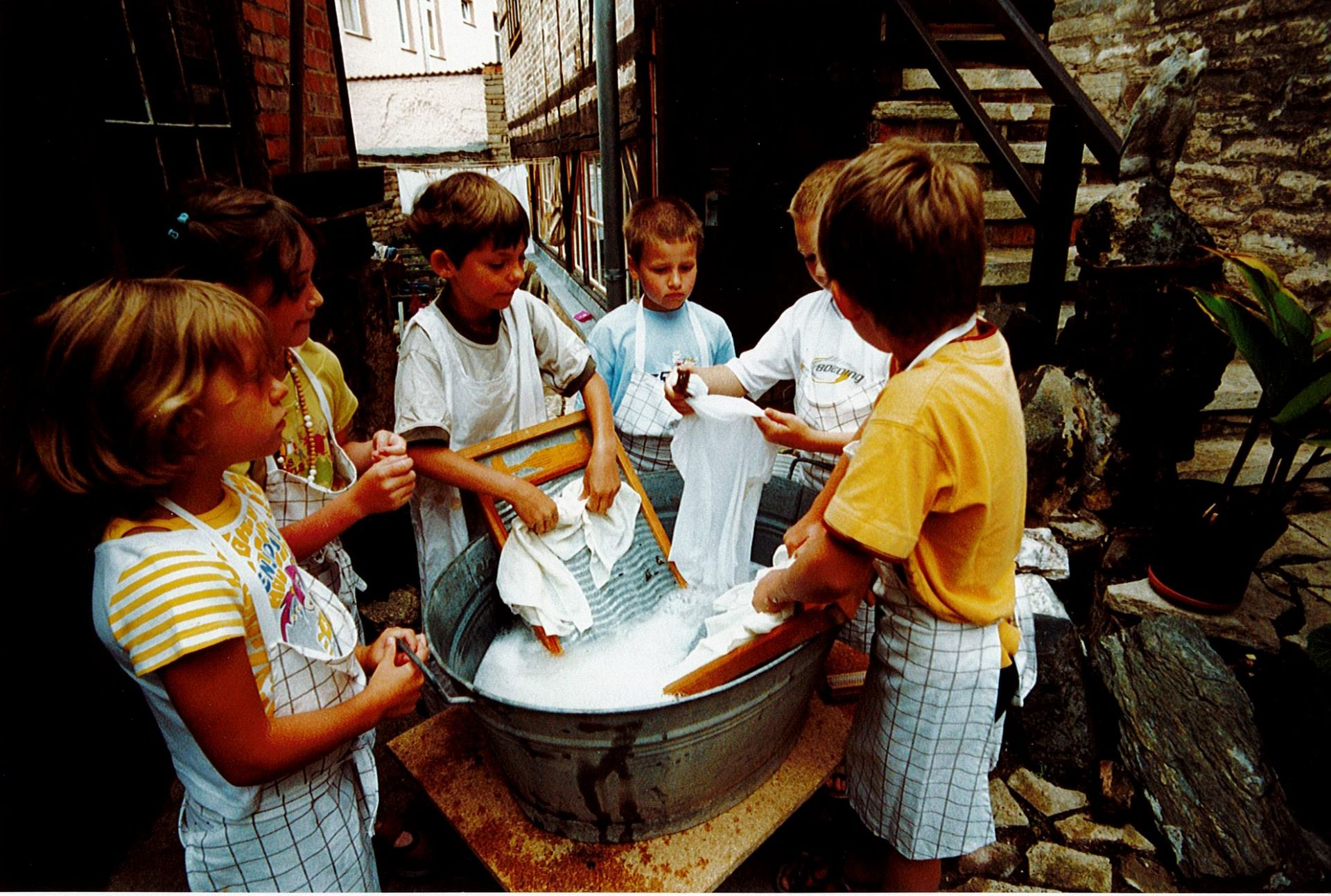 Kinderprogramm: Waschtag bei Familie Spengler